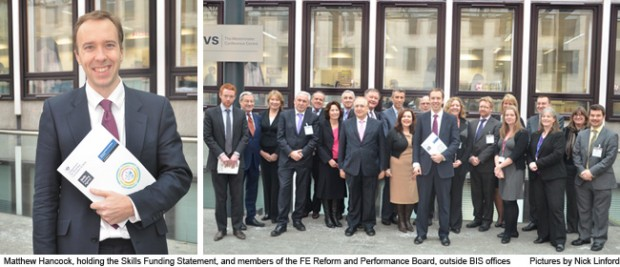 FE welcomes £270m cash injection