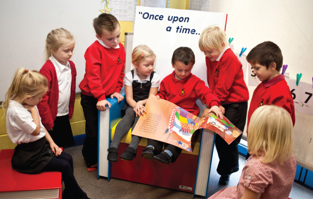 Fairytale furniture for primary school kids