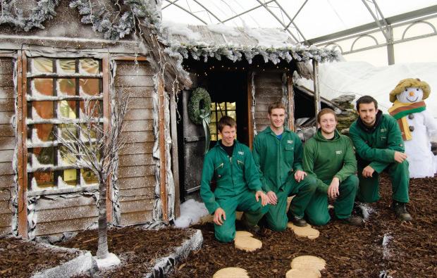 Winter wonderland at Moulton College