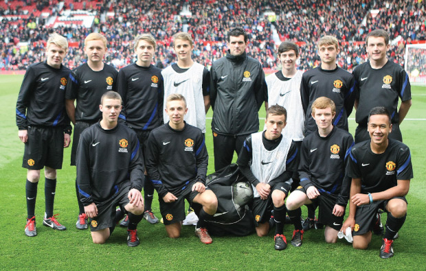 Old Trafford dreams come true for team