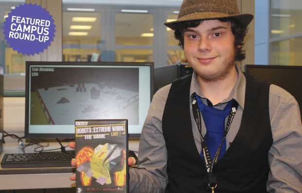 'Gifted' student's videogame to be turned into a franchise