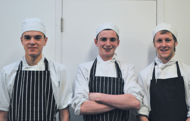 Three young chefs find a recipe for success