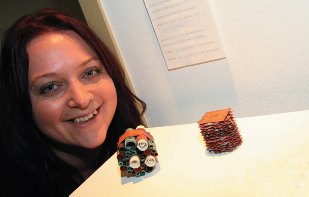 Textile exhibition reveals town's softer side