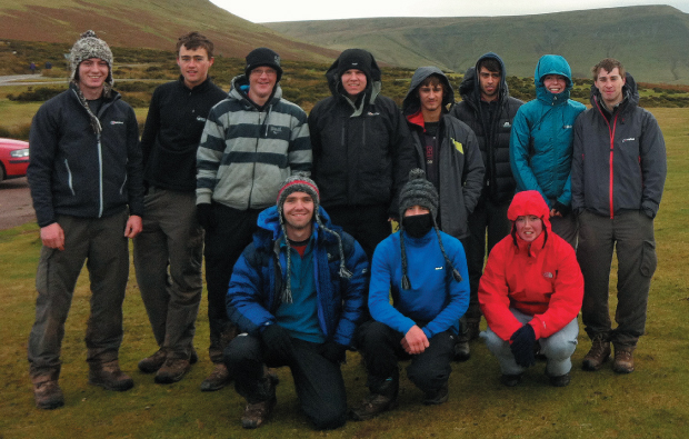 Gruelling three-day trek ends in success