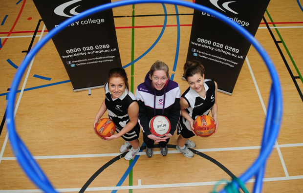 Derby College bags a new netball academy