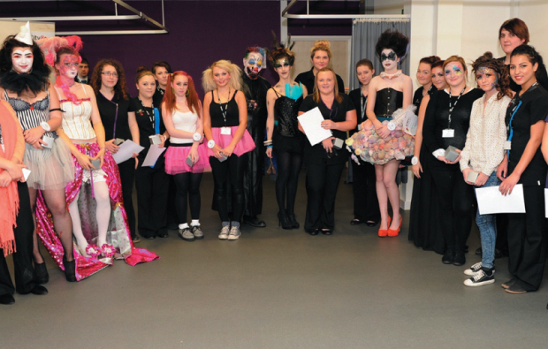 Beauty therapy students go head to head