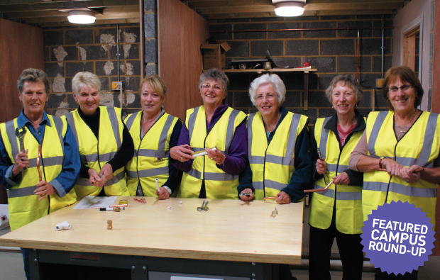 Jolly Dollies try their hand at DIY