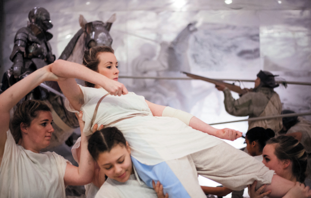 Dance performance at Royal Armouries