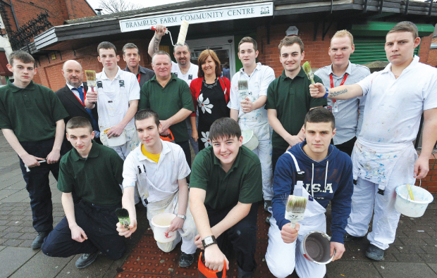 Building new hope for local community centre