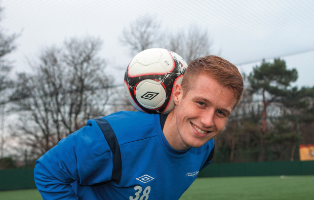 Best boot forward for footie star's career