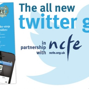 All new twitter guide - in partnership with NCFE