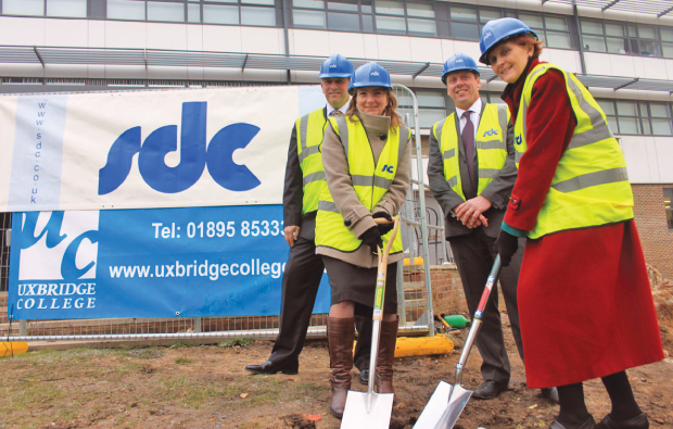 College starts work on £6.5m development