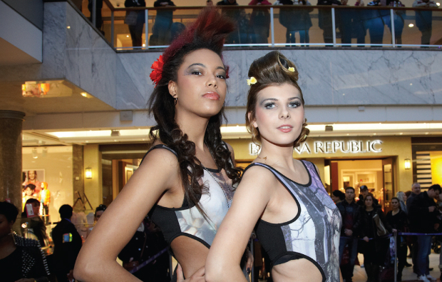 Glitz and glamour at college winter event