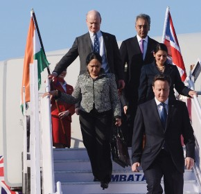 Colleges join Cameron on largest delegation to India