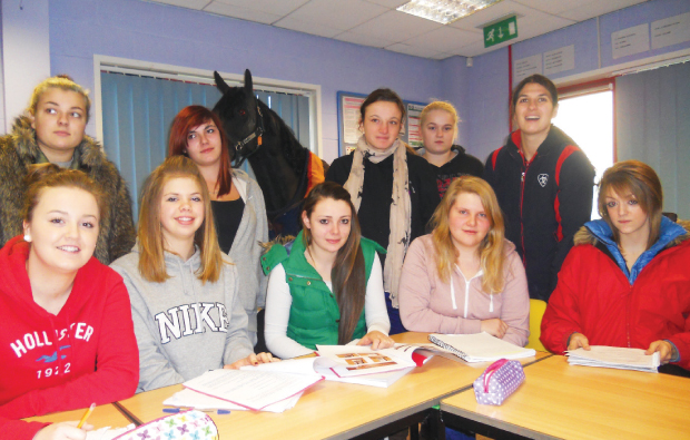Students take the reins to help lecturer