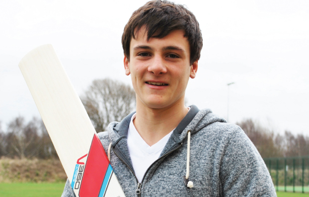 Priestley College cricket star to play for England
