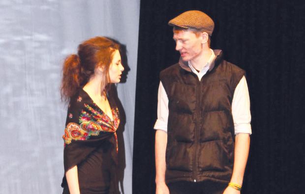 Students cast a spell with stage performance