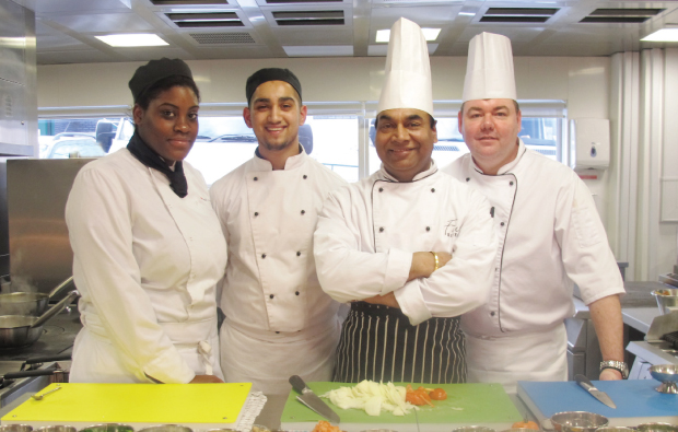 Spicing things up at Walsall College