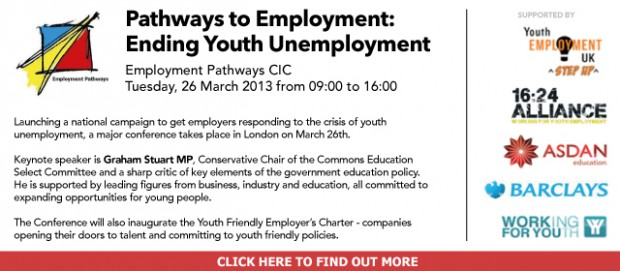 Advertisement: Pathways to Employment: Ending Youth Unemployment