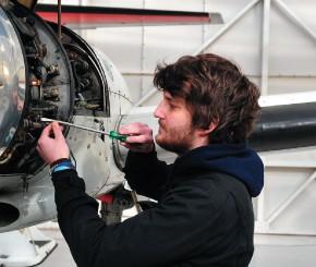 Aircraft maintenance- Luke Greenaway