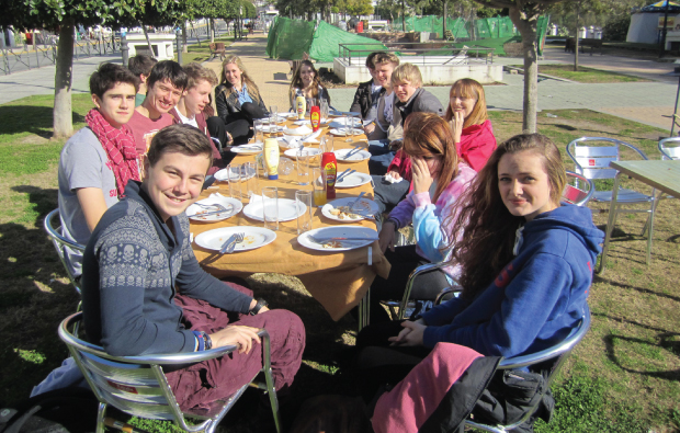 Cadiz trip brings Spanish lessons to life