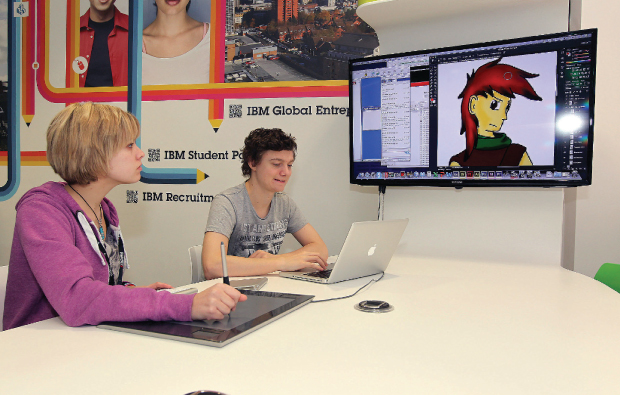 Heads in the cloud for game design students