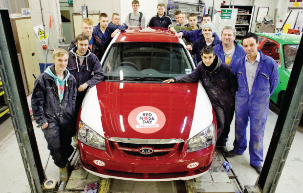 Pimped car raises £1,650 for Comic Relief