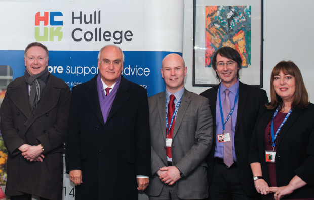 Ofsted boss praises Hull College