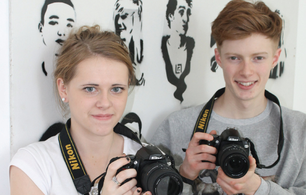 Budding photographers gain online exposure