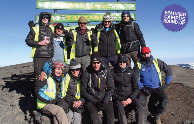 'Getting to the summit was a mixture of sadness and celebration'