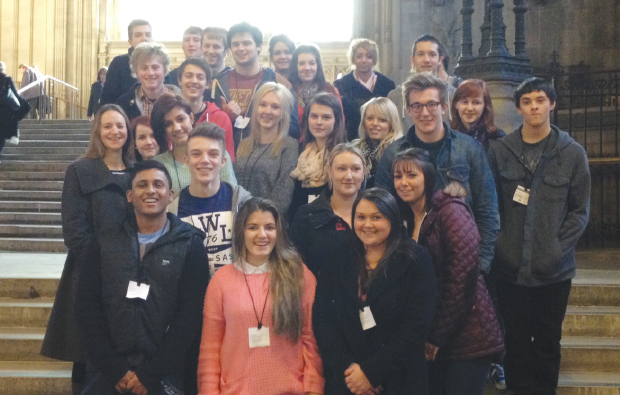 Somerset students feel the Commons touch