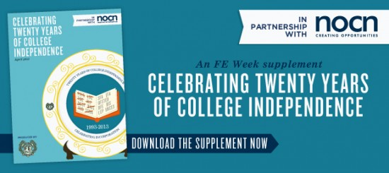 Celebrating 20 years of college independence