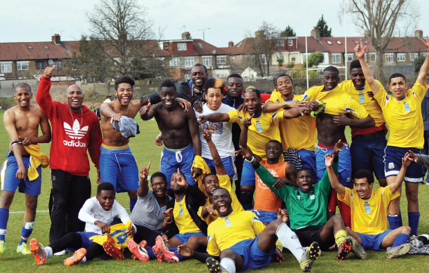 All eyes on the prize in Newham