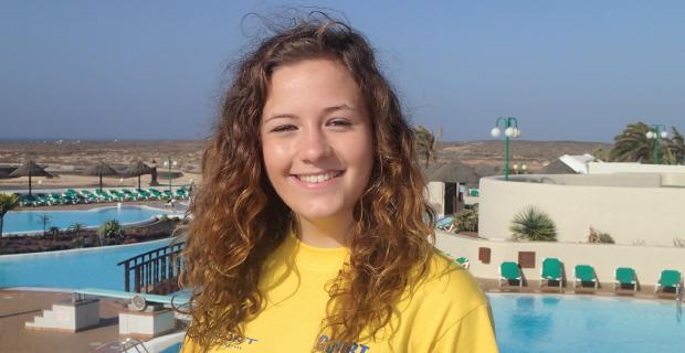 PE student hopes to make a big splash