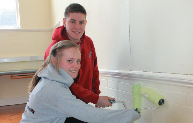 Makeover for Crewe primary school