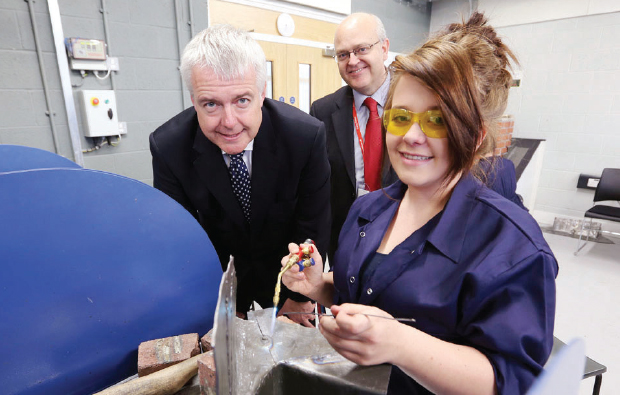Minister visits new £33m campus