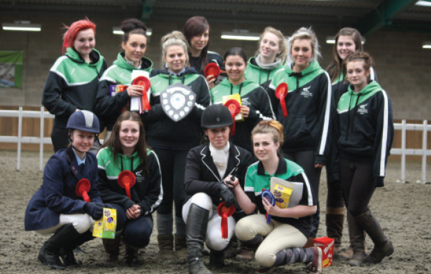 Galloping success for Derby College