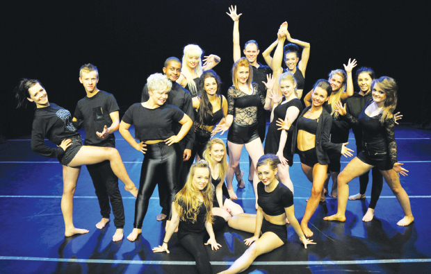 Dancers put best foot forward for charity