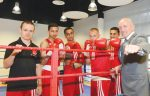 Boxing champ steps into the ring
