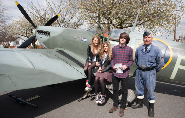 Students get hands-on with history