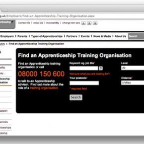 apprenticehsips screenshot