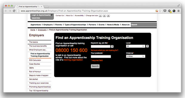 New website misses national providers