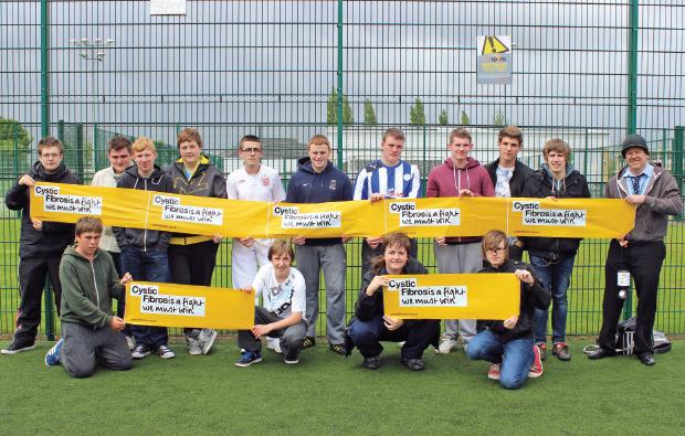Football match raises cash for charity