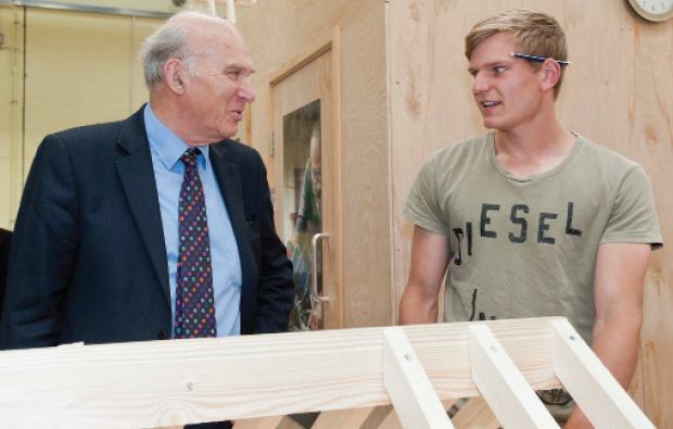 Ministerial visit for Warwickshire College