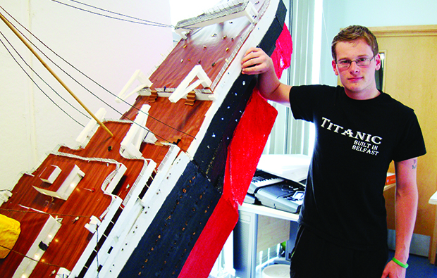 Lorin's Titanic struggle pays off
