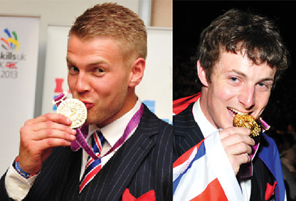 Team UK's golden duo