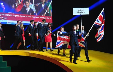 'Biggest international skills event' is under way