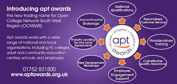 Advertisement: Introducing apt awards