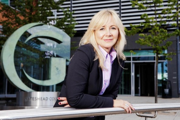 A principal first for Gateshead College
