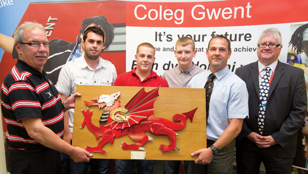 Dragon artwork inspires rugby victory